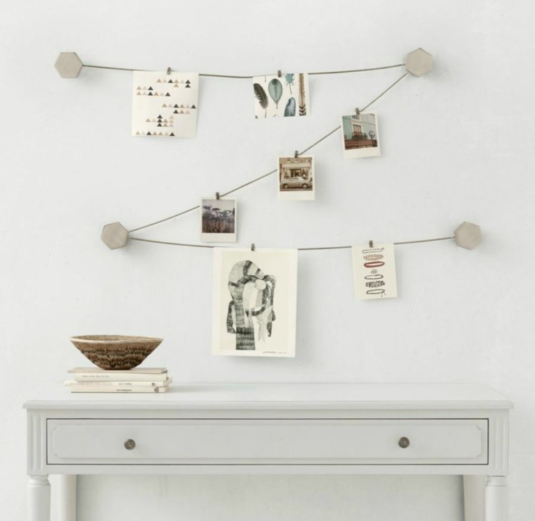 creative ideas to display pictures34