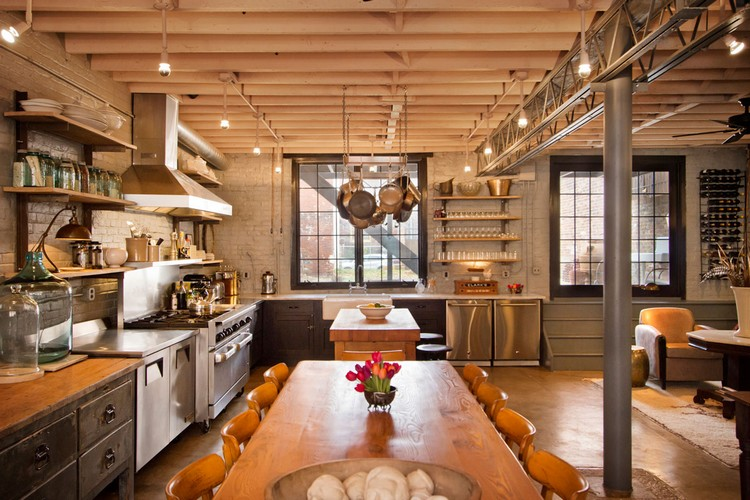 industrial kitchen ideas (8)