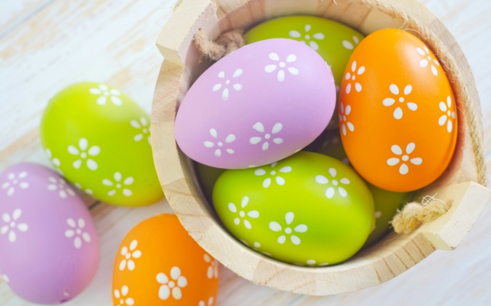 Diy Easter decoration ideas with Easter eggs15