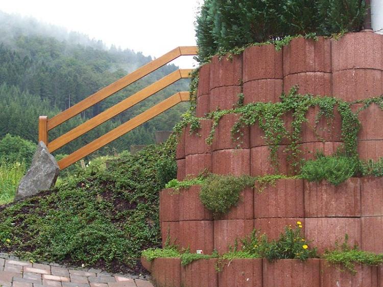 Concrete garden jardinières (12)