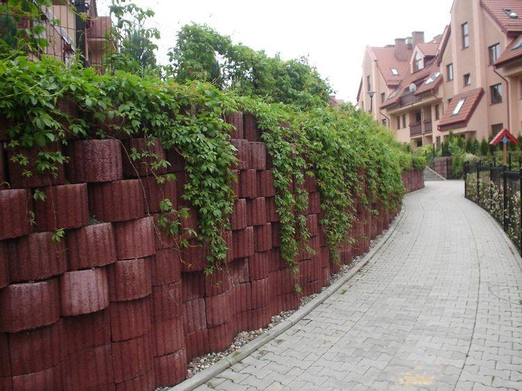 Concrete garden jardinières (8)