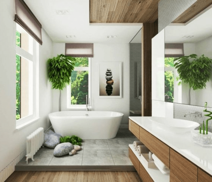 Zen bathroom ideas25