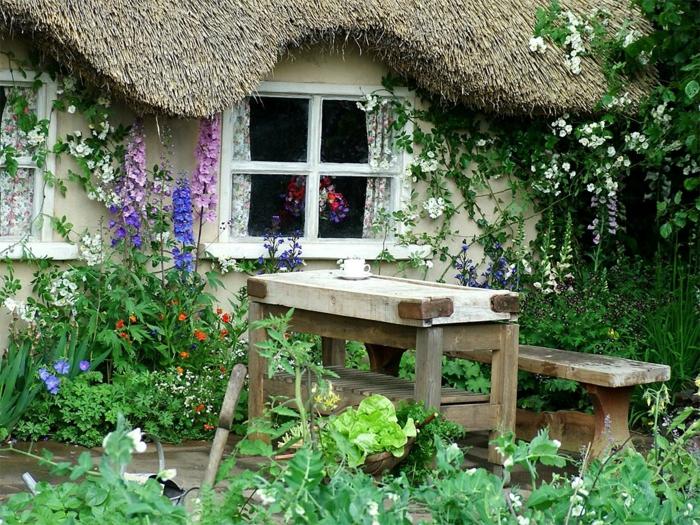 Rustic garden furniture2