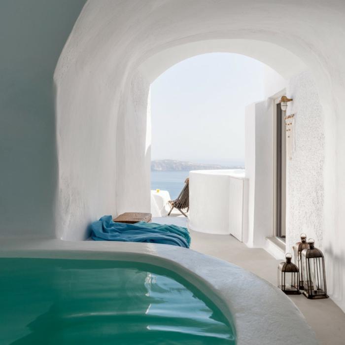 Cocoon Suites in Imerovigli Village of Santorini island