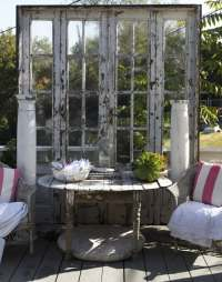 Cheap garden decoration in 28 objects of style Shabby Chic ...