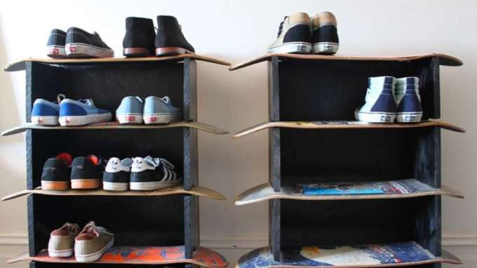 DIY Ideas With Skateboards3
