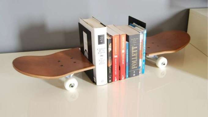 DIY Ideas With Skateboards7