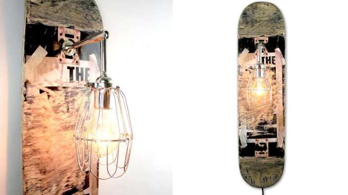 DIY Ideas With Skateboards9