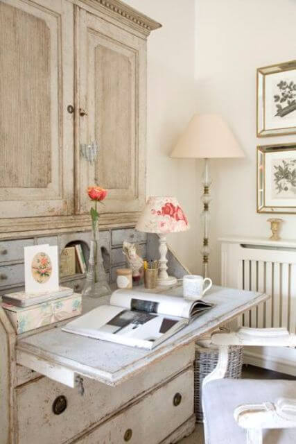 French country style country home offices (15)