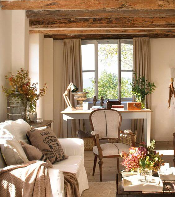 French country style country home offices (5)