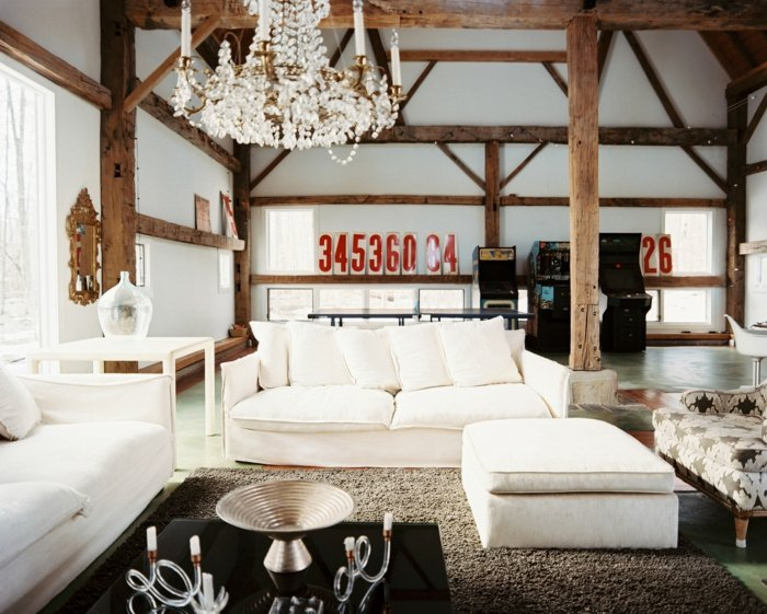 Rustic lounge ideas17