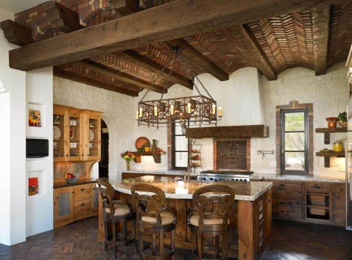 rustic kitchen ideas14