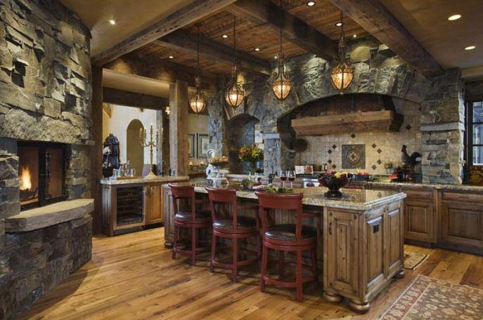 rustic kitchen ideas6