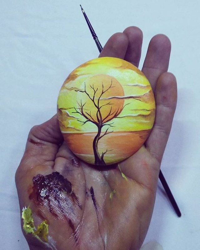 pebble painting ideas45