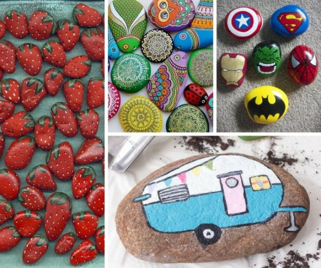 pebble painting ideas58