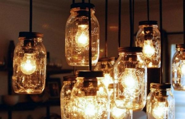 diy lights from jars1