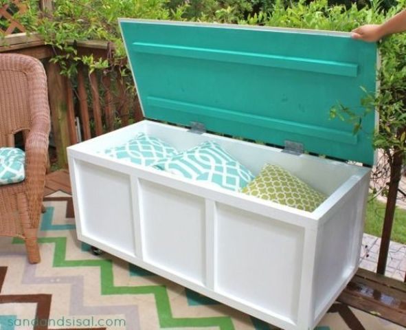 outdoor furniture ideas with storage solutions5