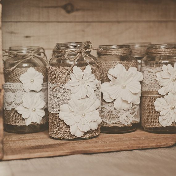 decorating ideas with burlap and lace (35)