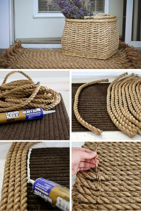 nique diy decoration ideas with rope (18)