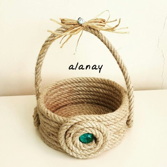 nique diy decoration ideas with rope (9)