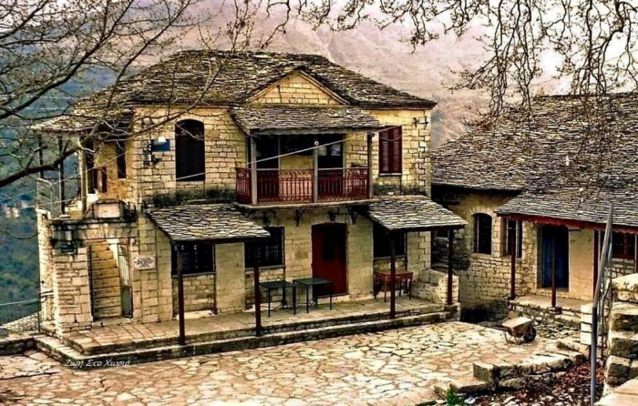 dream houses in the mountains of Greece17