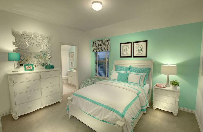 mint color decoration (19)