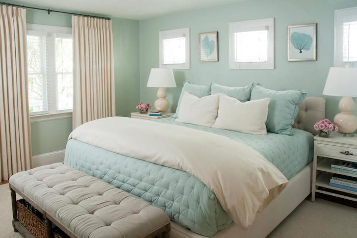 mint color decoration (21)