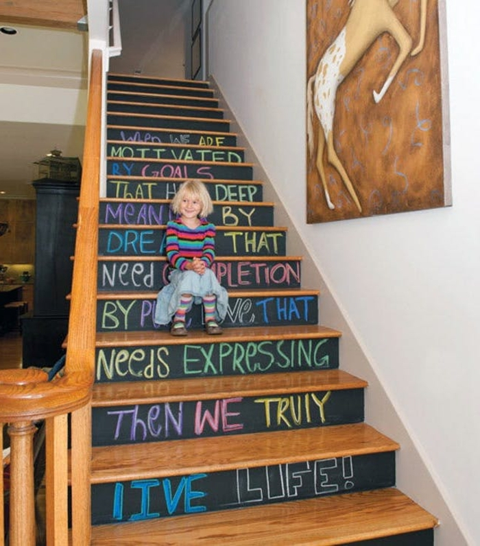 ideas to update the stairs14