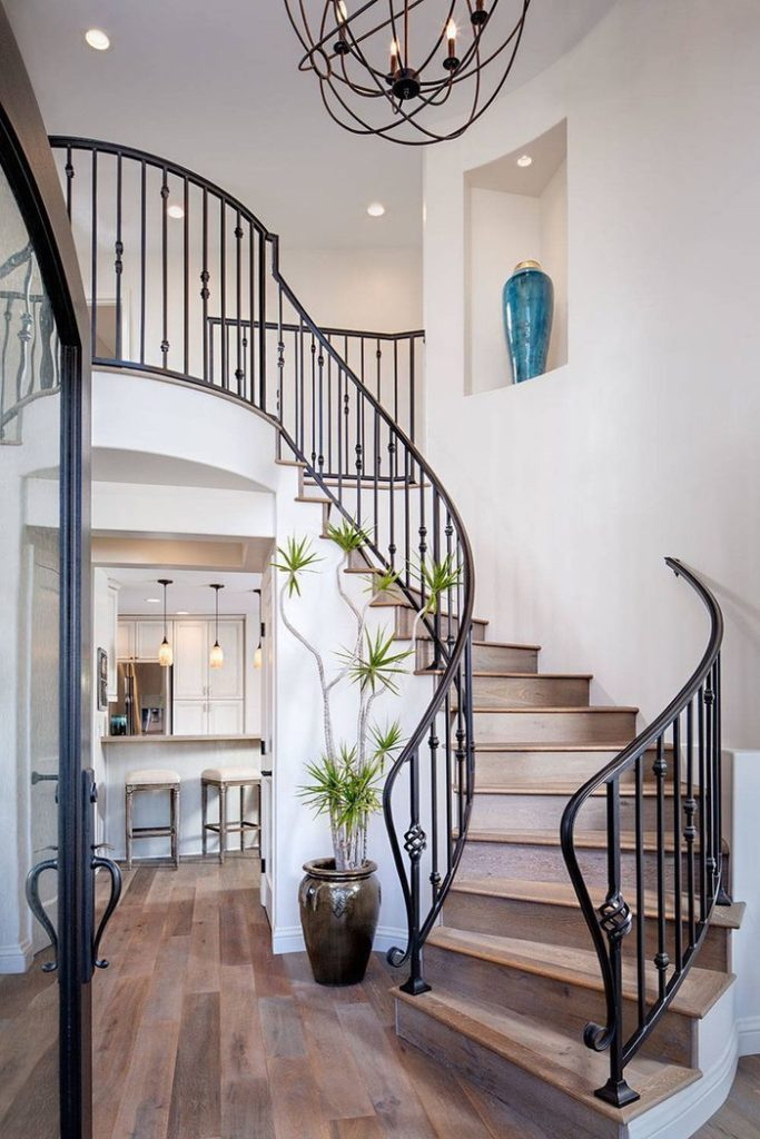 Creative ideas to update the stairs of your interior   My ...