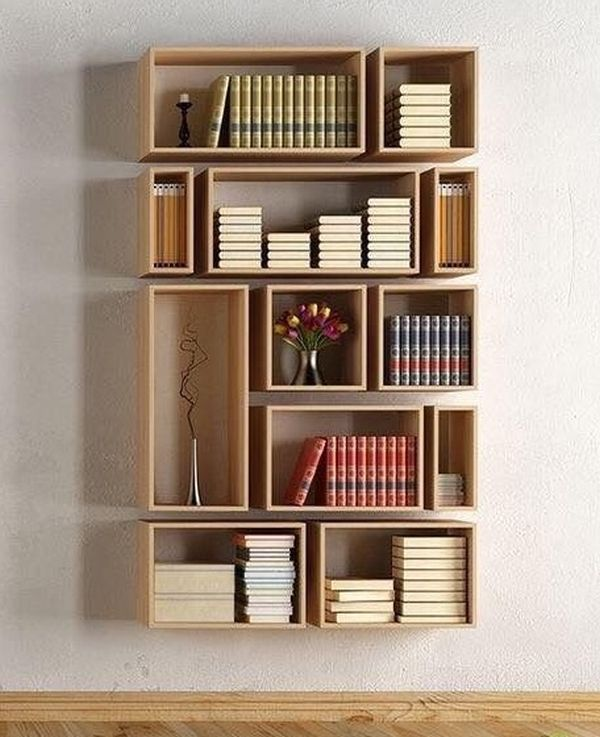 practical and unique ideas to organize books5