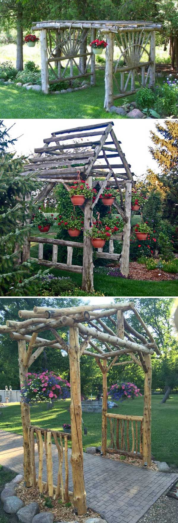 DIY projects for the garden made of wood (13)