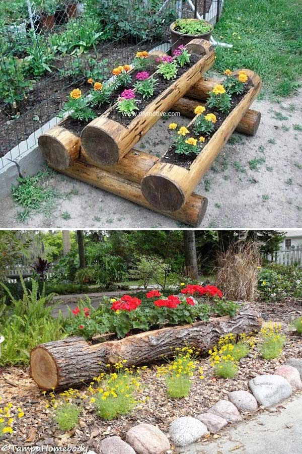 DIY projects for the garden made of wood (17)