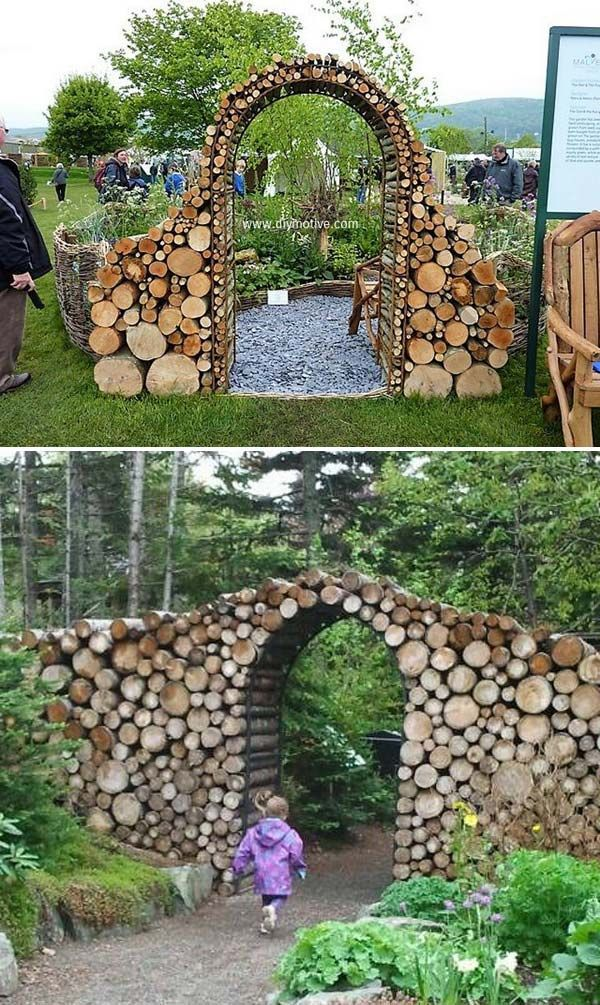 DIY projects for the garden made of wood (7)