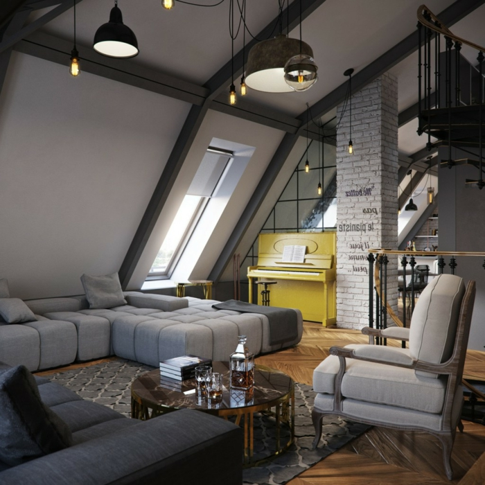 Attics deco and inspiration24