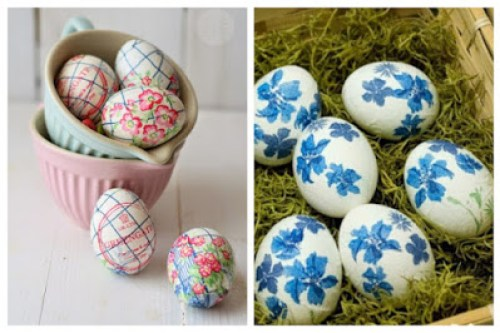 Decoupage in Easter eggs8