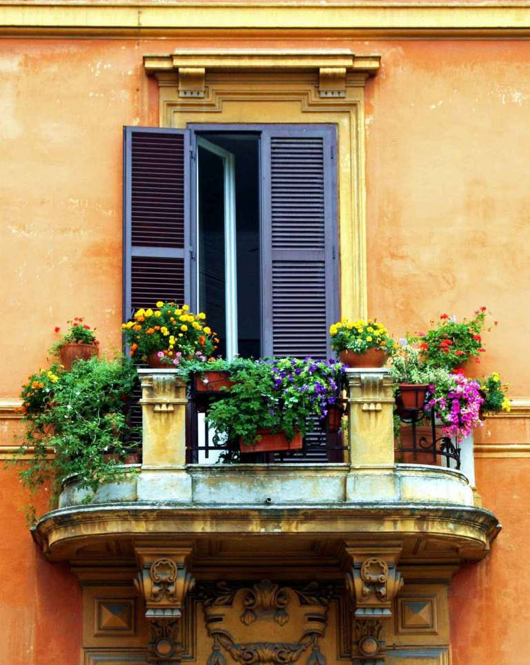 mydesiredhome - blooming balconies ideas43