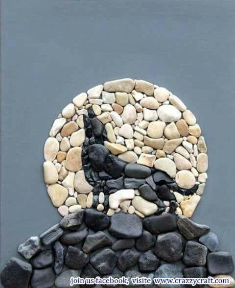 Pebble art ideas18