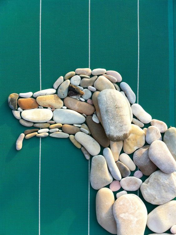 Pebbles 25 ideas for creative art inspiration  My