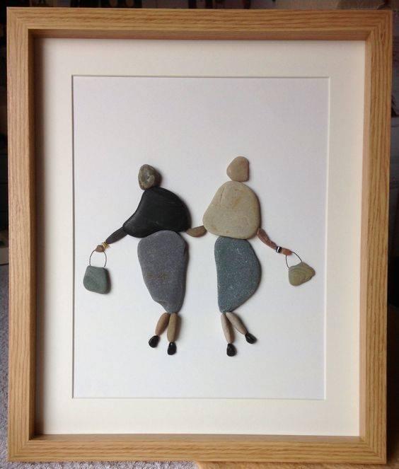 Pebble art ideas23