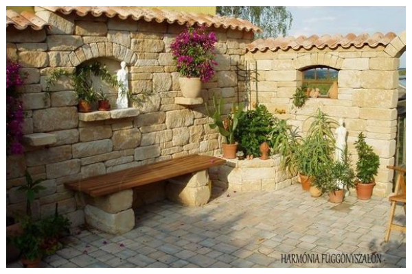 ideas with stone gazebo without a roof9