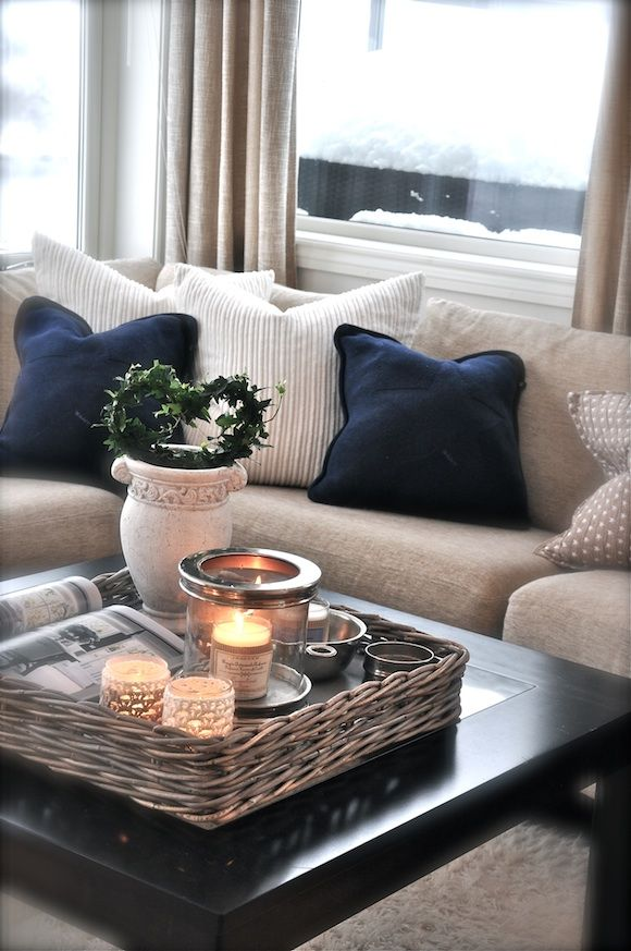 living room table decoration ideas13