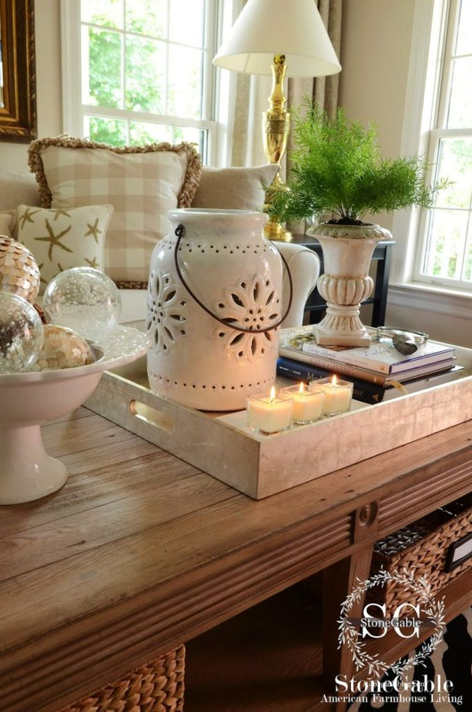 living room table decoration ideas28
