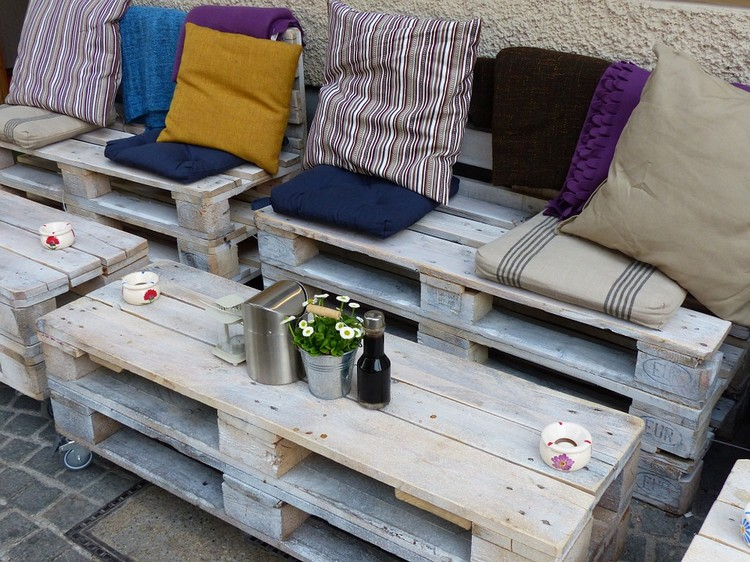 Balcony pallet Sofa ideas23