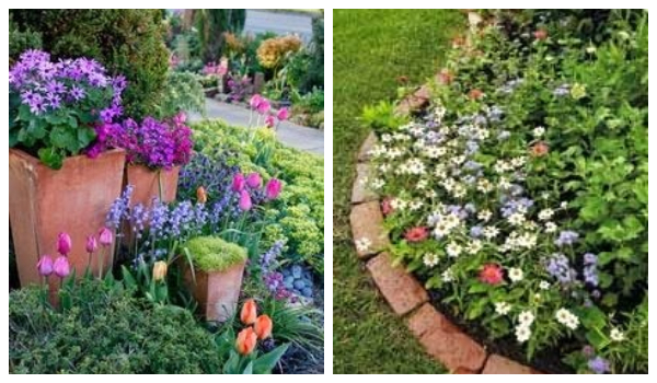 flowerbed ideas for your garden4
