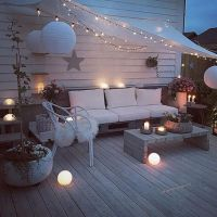 Cozy terraces: magnificent ideas with no cost and large ...