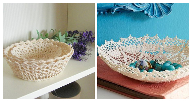 Wonderful Diy Craft Ideas From Doilies And Lace For Your Home