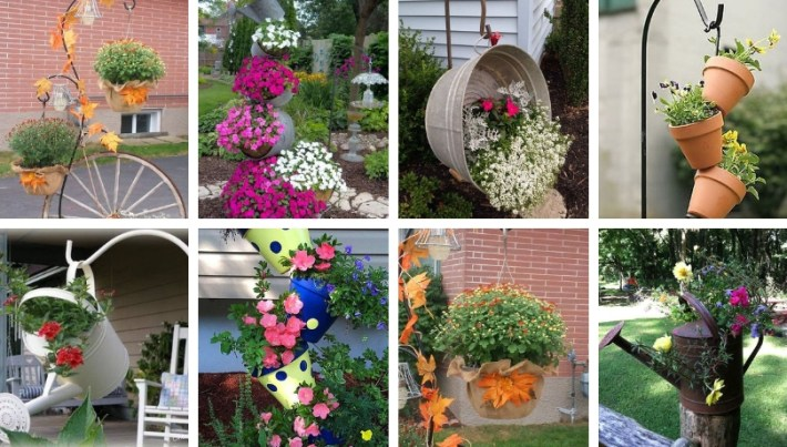 Highlight Garden With These Diy Ideas Of Colorful Pot Arrangements My Desired Home