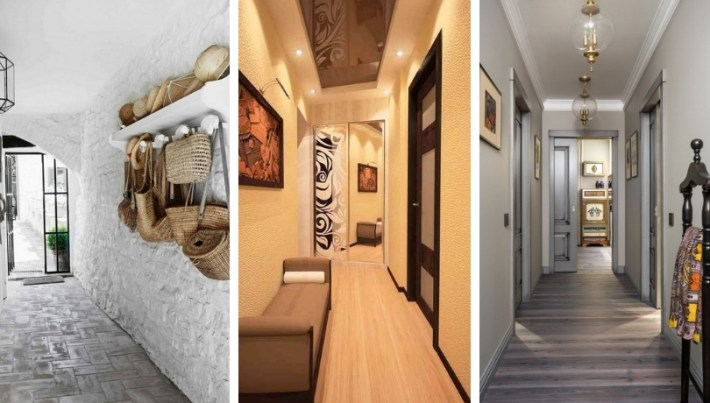 Wonderful design ideas of a narrow corridor in city ...