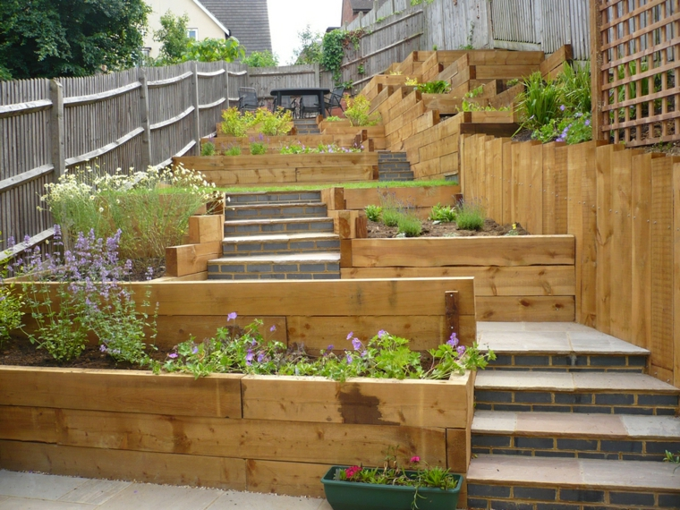 Amazing ideas for sloping gardens - turn the slope into an ... on Inclined Backyard Ideas id=85180
