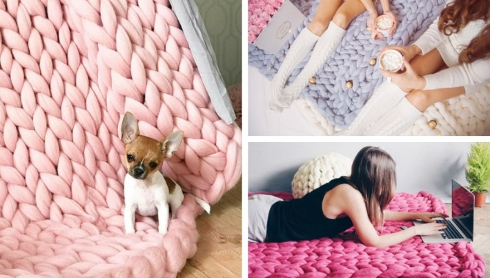 Deco Trend Diy Decoration And Craft Ideas With Thick Arm Knitting